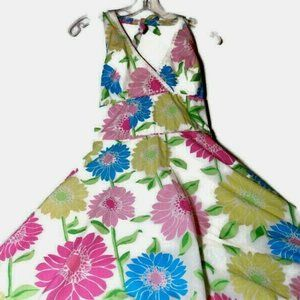 Lilly Pulitzer Halter Party Dress Spring Easter 4
